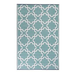 DII Moroccan Indoor/Outdoor Lightweight, Reversible, & Fade Resistant Area Rug, Use For Pati ...