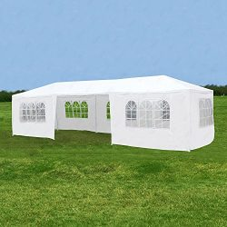 ORKAN 10'x30′ Canopy Party Wedding Tent Outdoor Gazebo Heavy Duty Pavilion Event