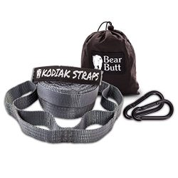 Bear Butt Kodiak Hammock Straps – 40 Combined Loops – 20 Feet Long – Holds 100 ...