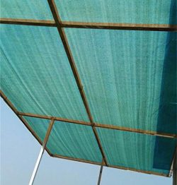 Patio Shade Fabric for Greenhouse,Pond Cover,Pergola Cover,Patio Side Fence 7.8x30ft DarkGreen
