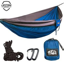 Double & Single Camping Hammocks – Lightweight Nylon Portable Hammock, Best Parachute  ...