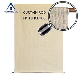 Alion Home Sun Shade Rod Pocket Panel for Patio, Awning, Window Cover, Instant Canopy Side Wall, ...