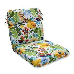 Pillow Perfect Outdoor/Indoor Lensing Garden Rounded Corners Chair Cushion