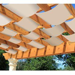 DIY Decorative Pergola Shade Canopy – Set of 2