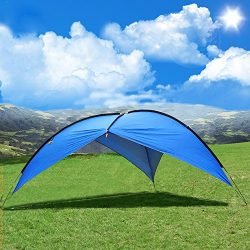 Beach Tent,Beach Canopy,Sun Shelter POP UP Tent 3-8 People Large Canopy Tent Pergola UV Protecti ...