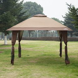 Suntime 12′ x 12′ Outdoor Gazebo Canopy Party Wedding Tent with Removable Walls