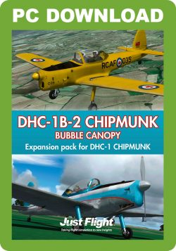 DHC-1B-2 Chipmunk – Bubble Canopy [Download]