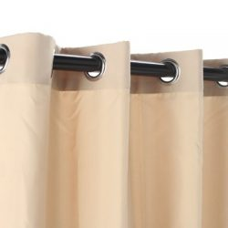 Gazebo Indoor Outdoor Window Panels, 50 by 96, Khaki