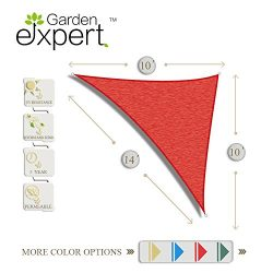 Garden EXPERT knitting Sun Shade Sail for Garden,Outdoor and Patio