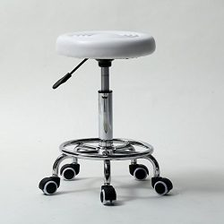 Z ZTDM Adjustable Tattoo Salon Stool Hydraulic Rolling Swivel Chair Facial Massage Spa Chairs (M ...