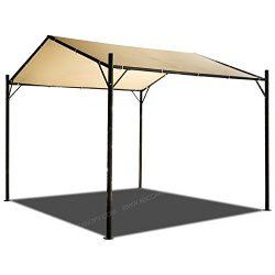 ABCCANOPY 10×10 Garden Gazebo Style Gazebo Garden Shelter (10×10)