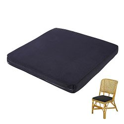 Happyyous Memory Foam Nonslip Chair Seat Cushion Pad Mat-14″ X 14″(36x36cm)-Premium  ...
