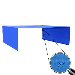Alion Home Custom Sizes Rod Pocket Waterproof Universal Replacement Shade Canopy Top Cover for P ...