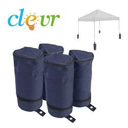 Universal Weight Bags Sand Bag Set of 4 for Popup Canopy Tent ,Bags ONLY