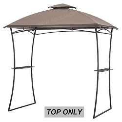 ABCCANOPY Grill Canopy Gazebo Roof Top L-GG035 PST (Brown)