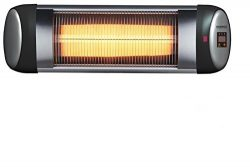 e-Joy 1500W Carbon Infrared Indoor/Outdoor Patio Heater (Come with heater unit and Wall Mount Br ...