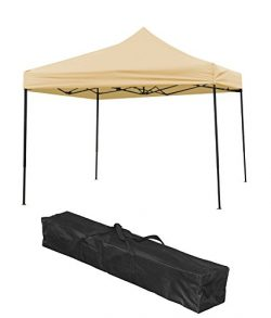 Trademark Innovations 10FTCAN Outdoor Canopy, Beige