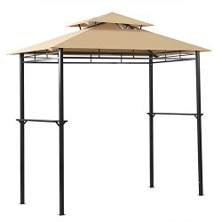 8′ x 4′ Outdoor Grill Gazebo Patio BBQ Soft Top Canopy Tent