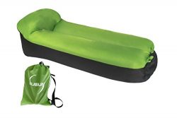 OUSUN inflatable lounge chair, airsofa, inflatable lounger, ideal for music festival and camping ...