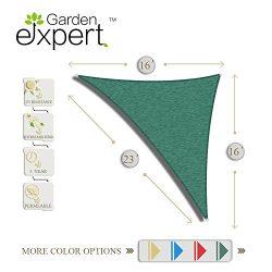 Garden EXPERT knitting Sun Shade Sail for Garden,Outdoor and Patio