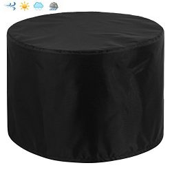 Patio Round Table and Chair Set Outdoor Cover, Water-Resistant, Outdoor All Weather Protection,  ...