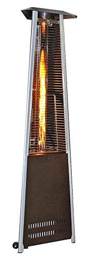 SUNHEAT International 99455 SUNHEAT Contemporary Triangle Design Portable Propane Patio Heater w ...