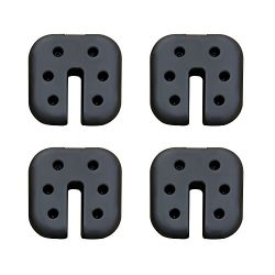 CROWN SHADES Canopy Weight Plates Set of 4-pc for Canopy Square