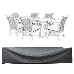 COVERKING CLUB 110″ L x 84″ W x 28″ H Patio Furniture Set Covers Waterproof Ou ...