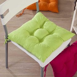 Gotd Indoor Garden Patio Home Kitchen Office Chair Pads Seat Pads Cushion (Green)