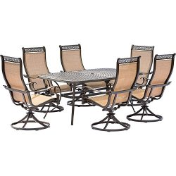 Hanover 7 Piece Dining Set with 6 Rockers & Dining Table