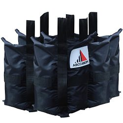 ABCCANOPY Heavy Duty Abccanopy Premium Instant Shelters Weight Bags – Set of 4 – 40l ...