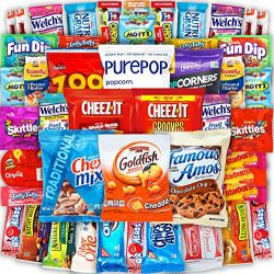 Canopy Snacks – Ultimate Snacks Care Package – Variety Snack Box Gift Pack – Assortment Bu ...