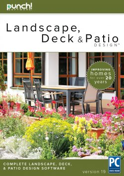 Punch! Landscape, Deck and Patio Design v19 for Windows  PC [Download]