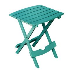 Adams Manufacturing 8500-94-3902 Quik Fold Side Table, Teal