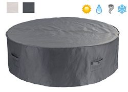 Patio Watcher Patio Furniture Cover Waterproof Outdoor Table Cover Bistro Small Round Furniture  ...