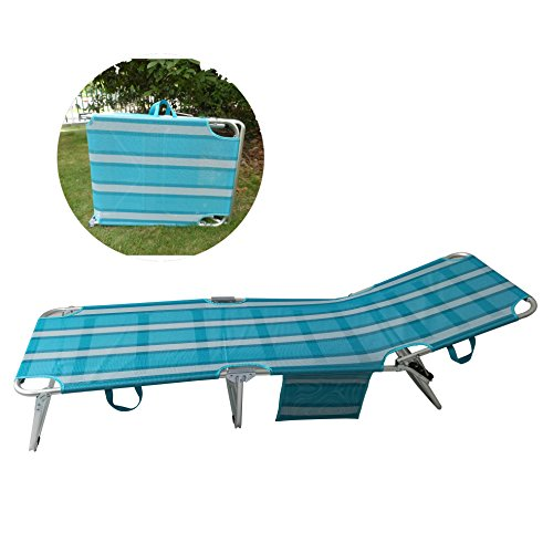 Sport Beats Beach Lounge Chair Aluminum Folding 4