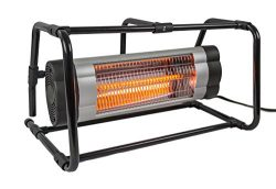 AZ Patio HIL-PHB-1500 Electric Heater with Ground Cage