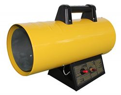 AZ Patio HIL-SHOP-LP40 40000 Btu Propane Forced Air Shop Heater