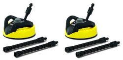 Karcher T300 Hard Surface Cleaner for Electric Power Pressure Washers (Deck, Driveway, Patio, To ...