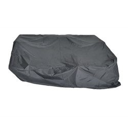 Leaptiime Patio Outdoor Sofa Cover All Weather Protective Patio Furniture Sofa Cover with Drawst ...