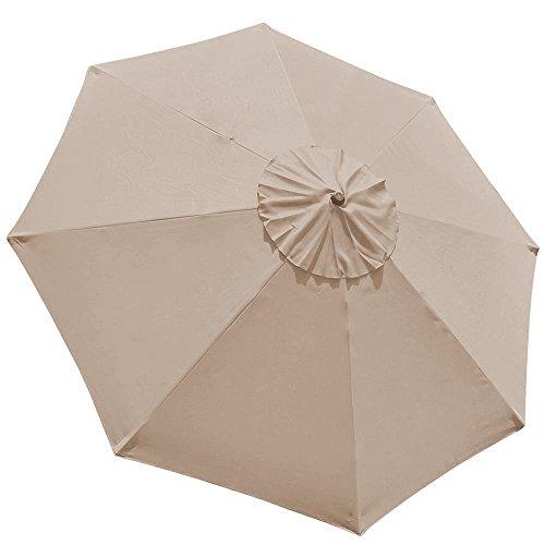 Elite Shade 9ft Patio Umbrella Market Table Outdoor