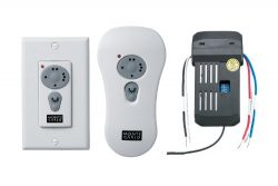 Monte Carlo CK250 Combo Canopy Receiver and Wall Transmitter with Downlight Control