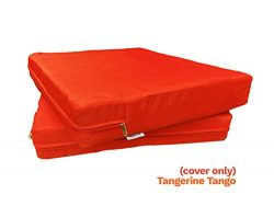 4 Pack Outdoor Patio Chair Washable Cushion Pillow Seat Covers 24″ X 22″ – Rep ...