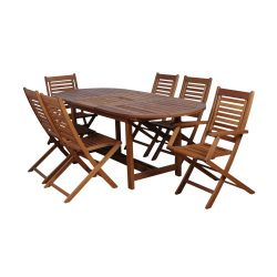 Amazonia Milano 7-Piece Extendable Set