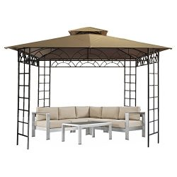 CO-Z On Clearance Patio Garden Gazebo 10'x10′ Outdoor Gazebos and Canopies with Ultr ...