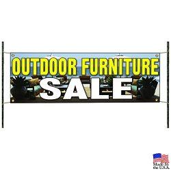 Outdoor Furniture Sale Patio Pergola Business Advertising Vinyl Banner Sign