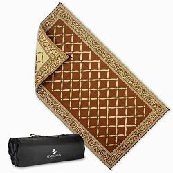 Reversi Mats Large Mat and Rug for Outdoors, RV, Patio, Trailer, and Camping – Heavy Duty, ...