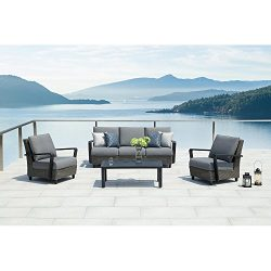 Ove Augusta 4-piece Conversation Set