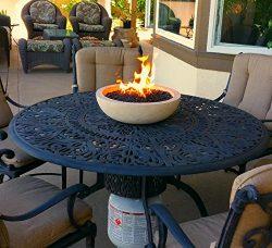 Patio Table Top Fire Bowl Runs On Propane