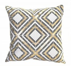 MHB Bronzing Flannelette Home Pillowcases Throw Pillow Cover 18″x18″